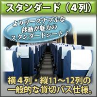 4×11(最後尾5列)【関西便】乗務員席有